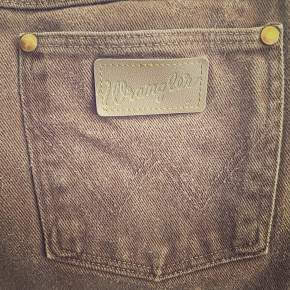 Ladies Vintage 13MWZ brown jeans - long